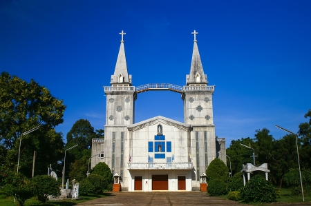 church of Saint Anna Nong Saeng at Nakhon Phanom, Thailand Stock Photo - 14873088