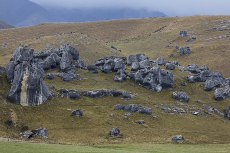 Castle Hill, Arthurs Pass in Newzealand