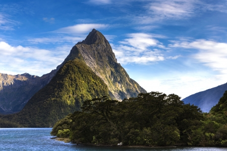 milford: Milford Sound, south west, New Zealand