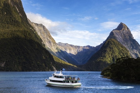 Milford Sound, south west, New Zealand