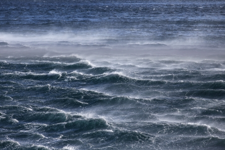 Waves in ocean Stock Photo
