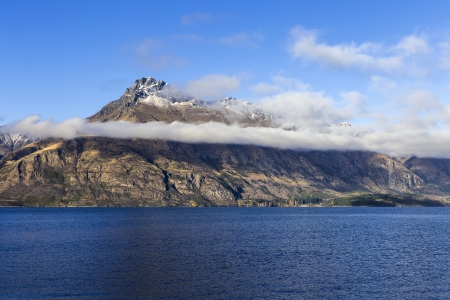 view of Lake Wakatipu, Glenorchy Queenstown Road, South Island, New Zealand