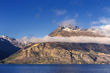 view of Lake Wakatipu, Glenorchy Queenstown Road, South Island, New Zealand photo