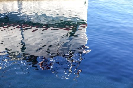 Abstract water reflexion photo