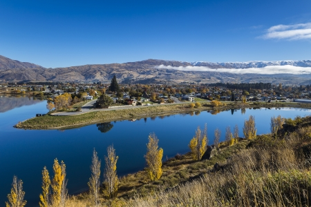 Lake Dunstan, Otago New Zealand photo