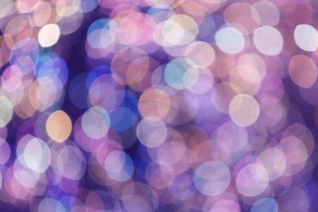Abstract light bokeh as background photo