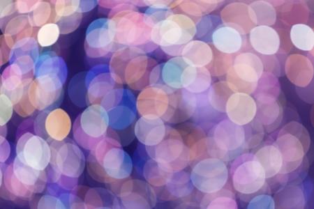 estrellas moradas: Bokeh luz abstracta como fondo