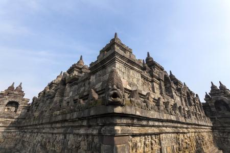 Borobudur Buddist temple Yogyakarta  Java, Indonesia Stock Photo