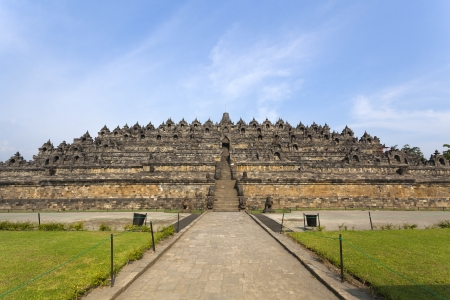 Borobudur temple Yogyakarta  Java, Indonesia Stock Photo