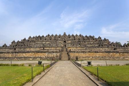 Borobudur temple Yogyakarta  Java, Indonesia Stock Photo