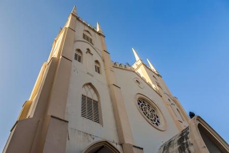 francis: Church of Saint Francis Xavier, Malacca, Malaysia Stock Photo