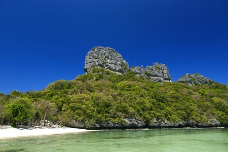 Beautiful beach at Ang Thong National Park, Surat Thani, Thailand photo