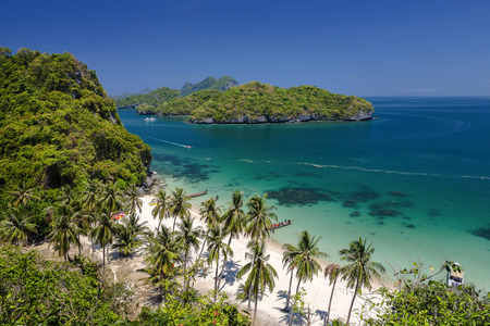 View point of Ang Thong Islands national park ,Thailand Stock Photo