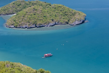 View point of Ang Thong Islands national park, Thailand