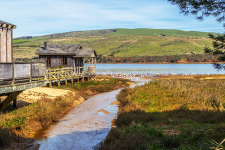 Old Pier House in Northern California