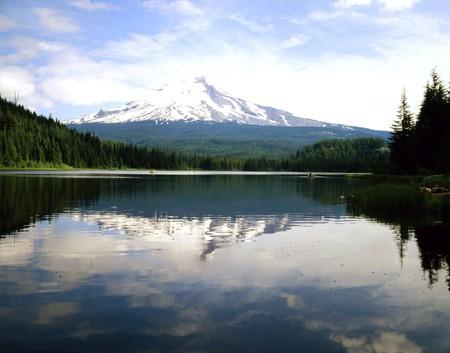 trillium lake: Mt.Hood and Trillium Lake, Oregon