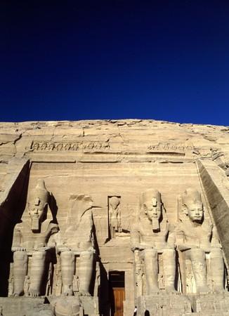 Temple Abu Simbel dedicated to Ramesses II Stock Photo - 7642919