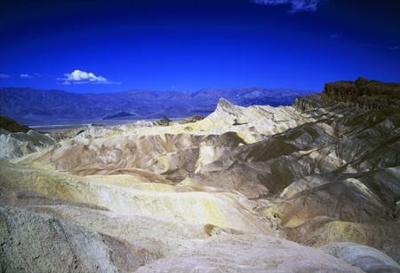 Zabriskie Point, Death Valley, California photo