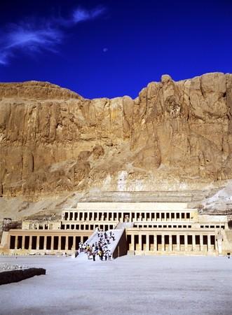 Tempio della regina Hatshepsut Archivio Fotografico - 7642984