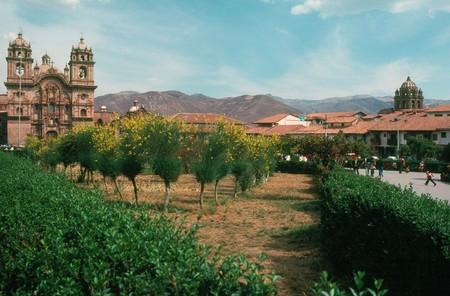 plaza de armas: Plaza de Armas, Cusco, Peru Stock Photo