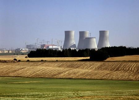 temelin: Nuclear Power lant, Temelin, Czech Republic Stock Photo