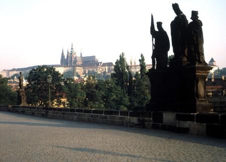 br: Charles Bridge, Prague Stock Photo
