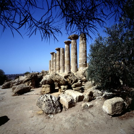 agrigento: Temple of Heracles (510 BC ),Agrigento, Sicily