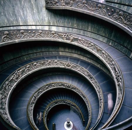 vatican: Vatican Museum, Spiral stairs