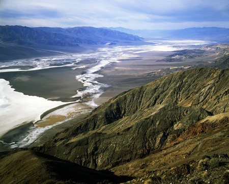 death valley: Dantes View, Death Valley, California
