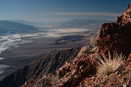 death valley: Dantes view, Death Valley, California Stock Photo