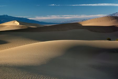 death valley: Sand Dunes, Death Valley, California