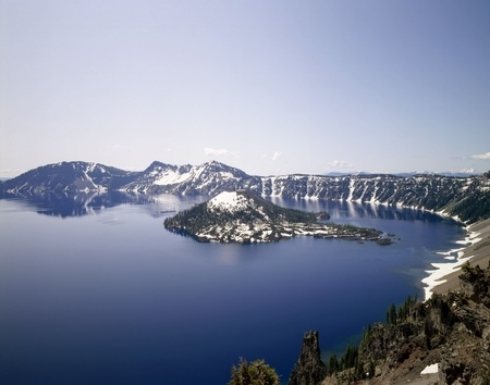 Crater Lake, Oregon photo