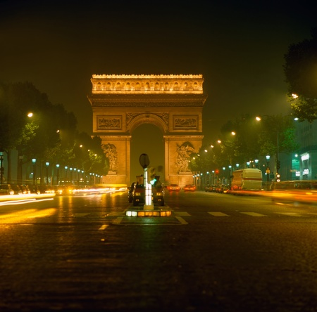 triumphe: Arc de Triumphe, Paris Stock Photo