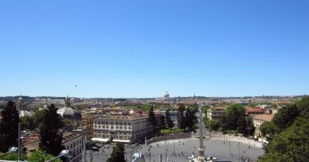 Piazza del Popolo, Rome                               photo