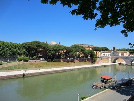 tiber: Roma, R�o T�ber