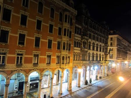 genoa:   Night in Genoa, Italy