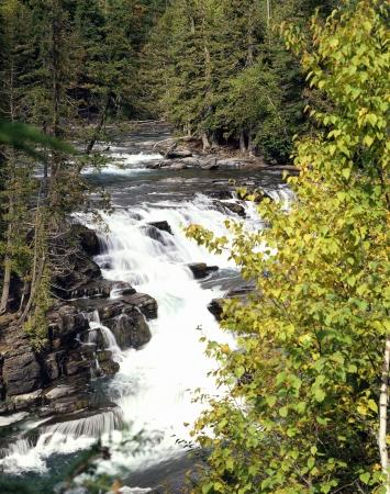 McDonald Creek, Glacier National Park, Montana photo