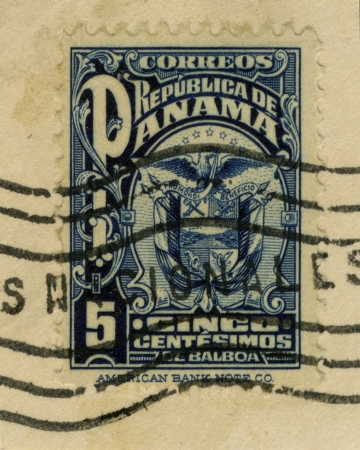 Vintage stamp Republica de Panama