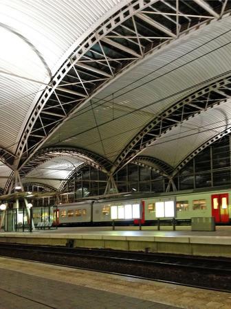 railroad station: Railroad station in Brussels, Belgium