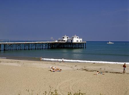 malibu: Malibu beach