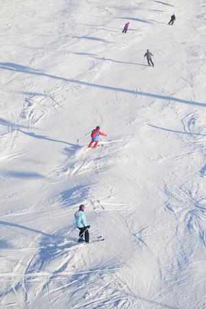 downhill skiing: Downhill skiing