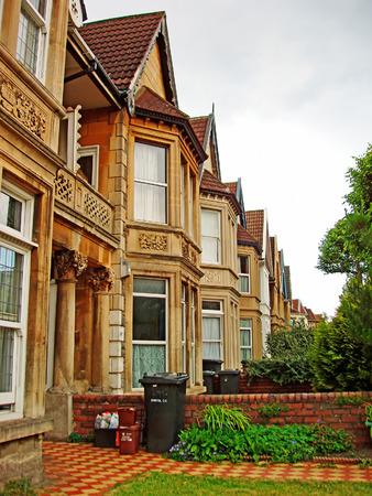 suburbia: Rowhouse in Bristol UK