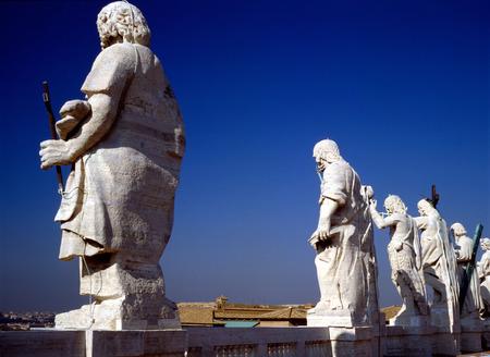 basilica: St,Peters Basilica, Rome Stock Photo