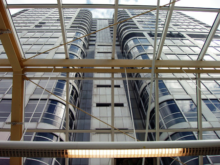 high rise building: High Rise Building in UK Stock Photo