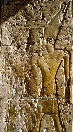 luxor: Relief in Luxor Stock Photo