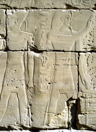 luxor: Relief in Luxor, Egypt