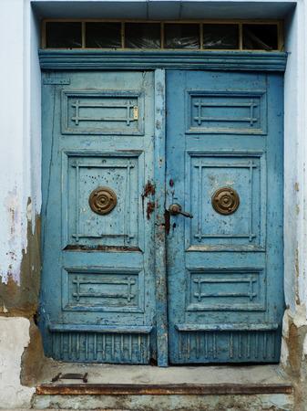 deatil: Old vintage door