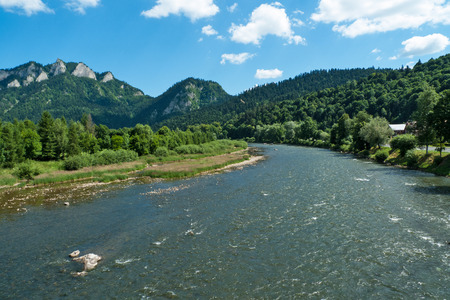 slovakia: River Dunajec in Slovakia
