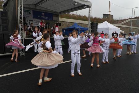 slovakia: Children dance group in Slovakia