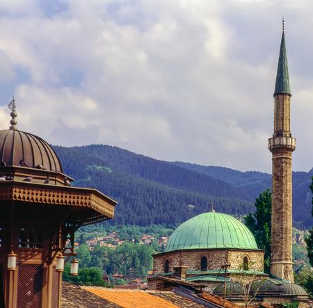 sarajevo: Old Town in Sarajevo, Bosnia-Herzegovina